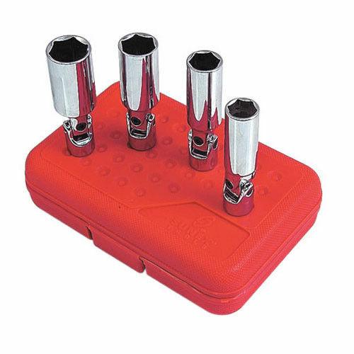 "Sunex 8844 3//8/"" Drive x 13//16/"" Universal Spark Plug Socket"