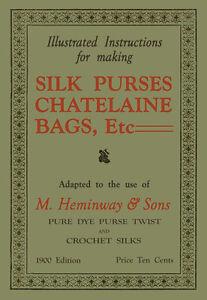 Heminway-Chatelaine-Crochet-Purses-c-1900-Vintage-Victorian-Pattern-Book
