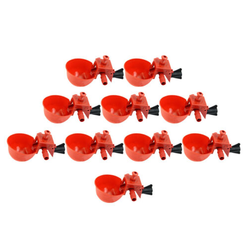 20Pcs Poultry Chicken Automatic Feeder Drinker,Coop Bird Water Drinking Cups