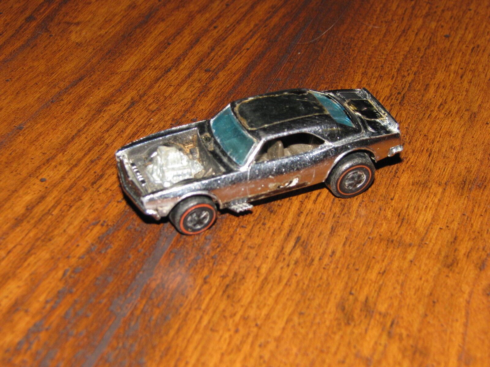 Club De Chevy Pesado Vintage Hot Wheels rojoline 1969 1969 1969 Camaro Cromo Raro Especial dab56f
