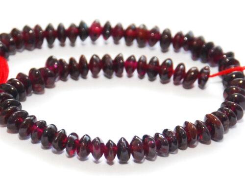 Hank of 2mm Garnet Round Beads