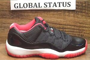 ab8ced1df95a75 NIKE KIDS GS AIR JORDAN RETRO XI 11 LOW BRED SHOES W RECEIPT 528896 ...