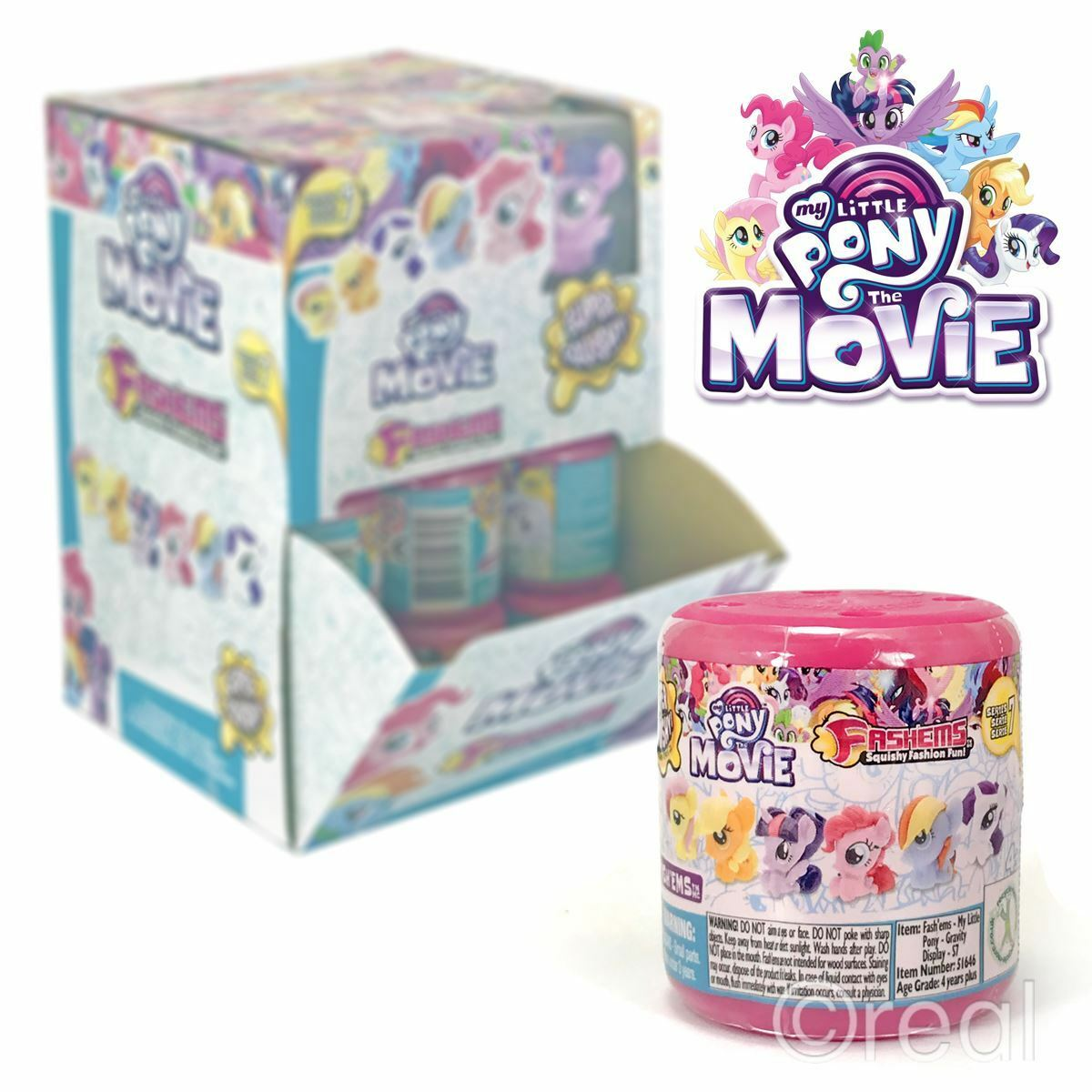 New 1 3 5 Or 10 My Little Pony Series 7 Fash'ems Blind Capsules Mystery Official
