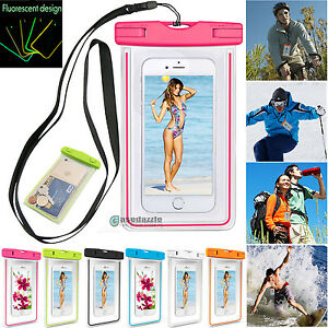 Summer-Travel-Waterproof-Underwater-Pouch-Dry-Bag-Case-Cover-for-Cell-Phone-RR