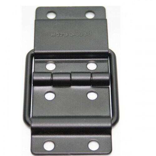 Ideal for Flightcases Pack of 2 Heavy Duty Black Strut Hinges