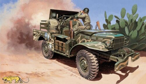 Italeri 6555 M6 Gun Motor Carriage WC-55-1:35