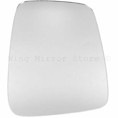 Right Driver Side WING DOOR MIRROR GLASS For Suzuki Carry 1981-1999 Stick On