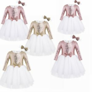 480a8b4a3 Image is loading Flower-Girls-Princess-Pageant-Dress-Toddler-Baby-Wedding-