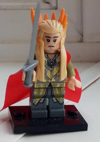 Lord of the Rings Lego and custom mini figures gandalf legolas aragorn tolkien