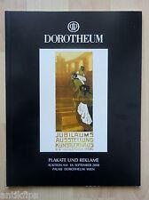 Auktionskatalog Dorotheum Wien Plakate und Reklame 18.09.2000