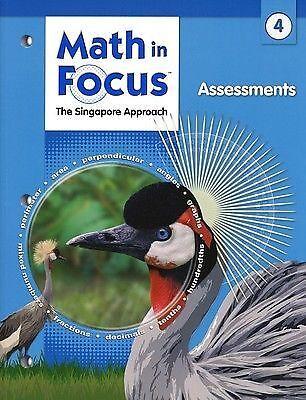 Math in Focus: Singapore Math: Assessments Grade 4