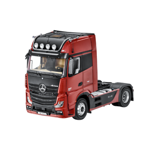 Mercedes Benz Truck Actros Fh25 Gigaspace Articulated Lorry Red 1 18