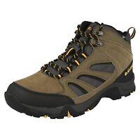 HI TEC Idaho Mens Waterproof Hiking Boot in Smokey Brown Suede