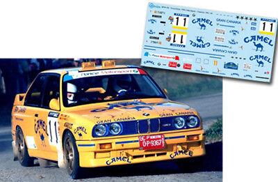 "DECAL CALCA 1//43 BMW M3 /""RADIANT/"" J.BASSAS RALLY CATALUNYA//COSTA BRAVA 1995"