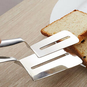 LD-AM-CN-Stainless-Steel-Food-Tong-Shovel-Spatula-Bread-Meat-Vegetable-BBQ