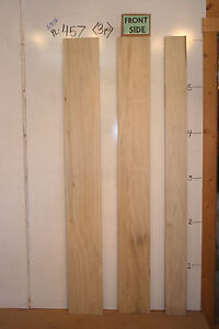 "Set 1"" Poplar boards, straight edge, craft & taxidermy lumber, 72""long, PL-457"