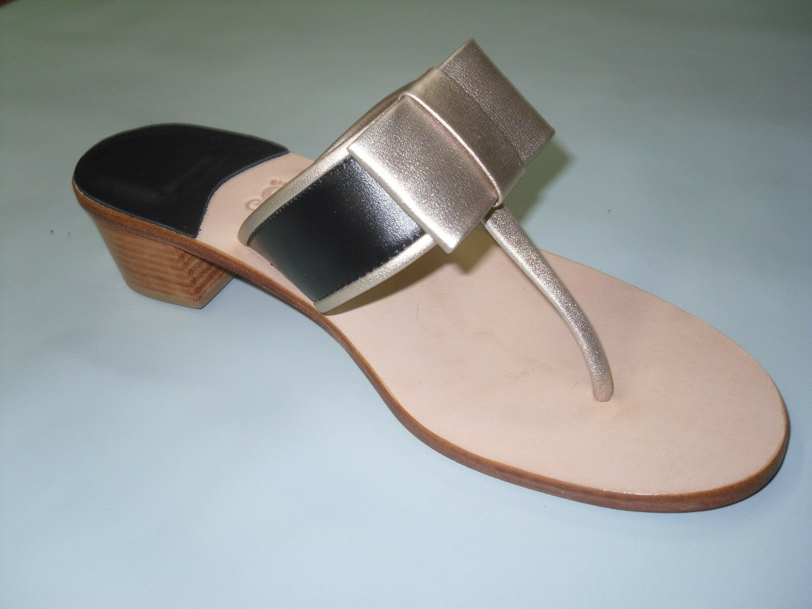 Ladies sandals, all Leather, Leather, Leather, hand made, Dimensiones 7, 8, 9, 10, back, tan and oro bfc2d7