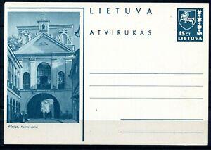 Litauen Bildpostkarte P-29 Vilnius, Ausros vartai