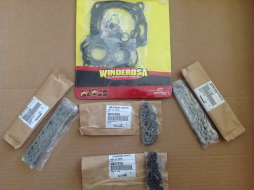 NEW TOP END  Cam Timing Chains Gaskets REBUILD KIT Brute Force 750 KVF750 Teryx