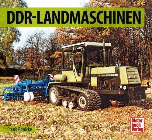 DDR-Landmaschinen Aktivist Pionier Schrader Typen Motor Modelle Chronik Buch