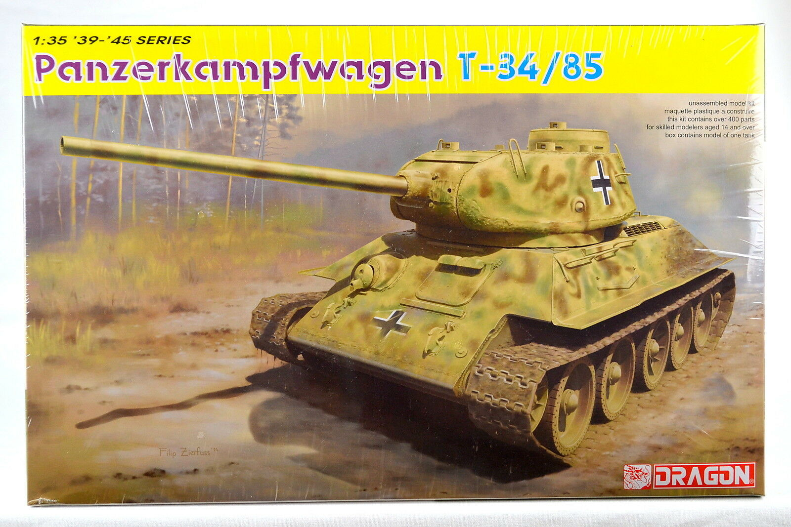 Dragon 6759 1 35 Panzerkampfwagen T-34 85 (No.112 Factory, 1944 Production)