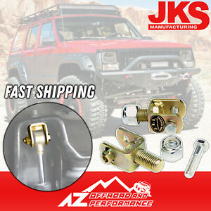 Details about JKS Front Upper Shock Conversion Kit 84-01 Jeep Cherokee XJ  Comanche MJ 9601
