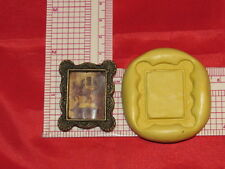 Square Picture Frame Mold Silicone Cake Chocolate Resin Clay Craft Soap 120