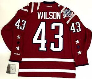 size 40 09d16 bdc57 Details about TOM WILSON WASHINGTON CAPITALS 2015 WINTER CLASSIC REEBOK  PREMIER JERSEY