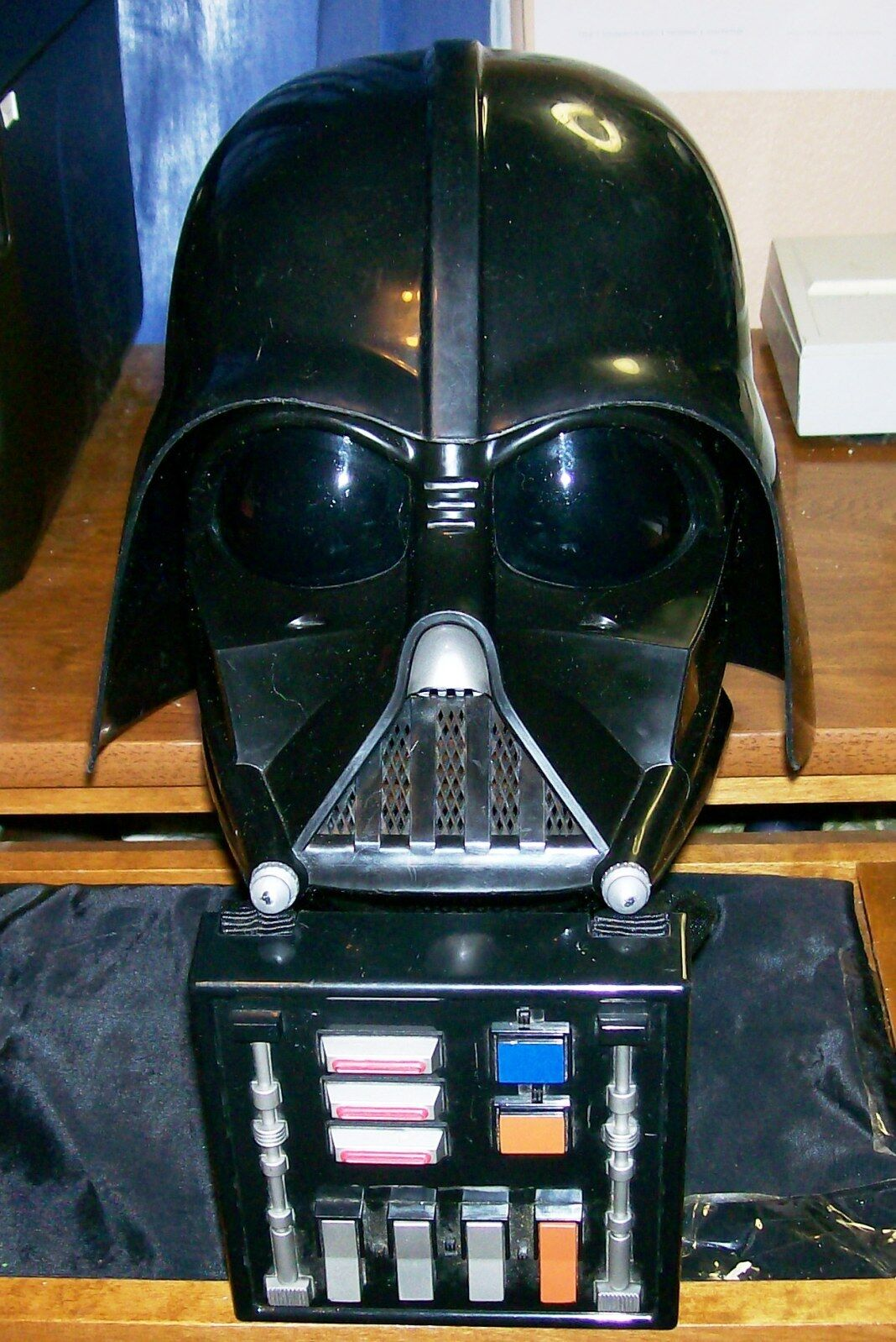 Star - wars - darth vader visuelle getönten helm w   schlacht auf w   voice & sound minze