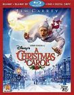 Disney's a Christmas Carol 3d 4 Discs Includes Digital 2010 Blu-ray