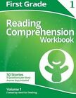 First Grade Reading Comprehension Workbook: Volume 1 by Have Fun Teaching (Paperback / softback, 2014)