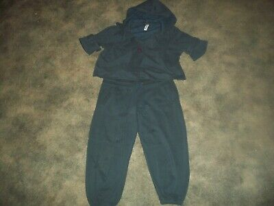 Activewear Womens Sweatsuit.victoria's Secret.plush N' Lush.cropped Length.size Small Strengthening Waist And Sinews Tracksuits & Sets