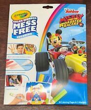 Crayola Color Wonder Coloring Pad Markers Mickey Mouse Roadster 071662270063 For Sale Online Ebay