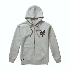 Details zu Zoo York Stencil Arch Mens Zip Hoodie Hoody Hooded Skate Street Fashion