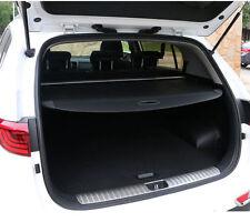 Black Rear Cargo Trunk Shade Cover For Hyundai Santa Fe Sport 2013-2015 5 seats