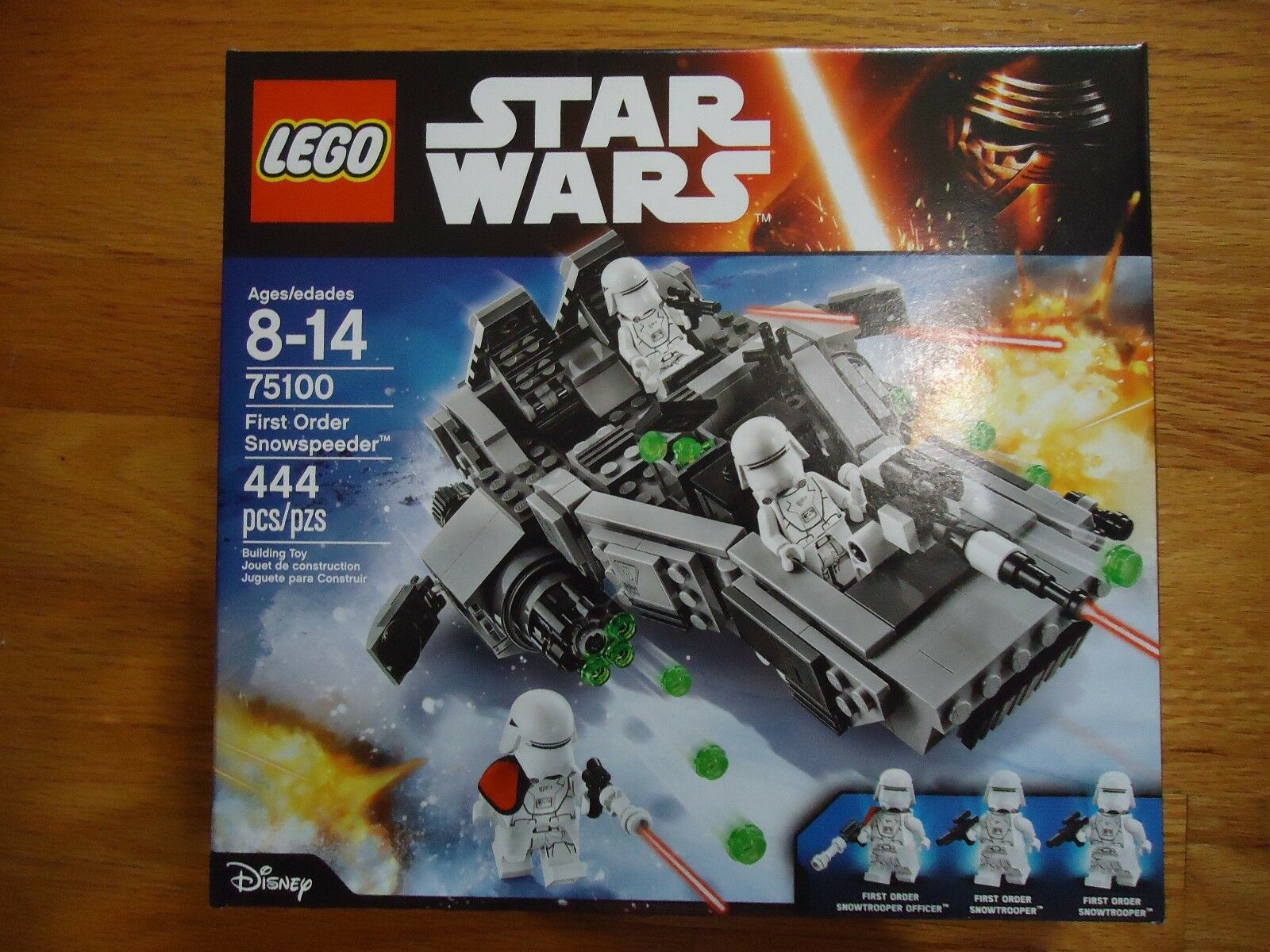Star Wars The Force Awakens LEGO 75100 First Order Snowspeeder - NEW Sealed