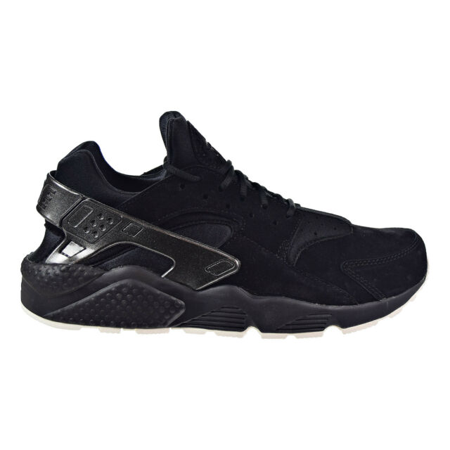 new style 26701 5b013 Nike Air Huarache Premium Men s Shoes Black Black-Sail 704830-014