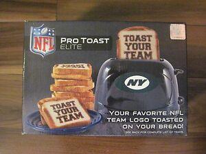 Pangea-Brands-Toaster-New-York-Jets-Pro-Toast-Elite-NFL-logo-on-your-toast-NEW