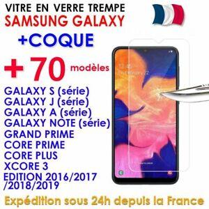 ANTICHOC-COQUE-VITRE-VERRE-TREMPE-GALAXY-A70-A40-A50-A10-A20-S10-S9-S8-Note-10