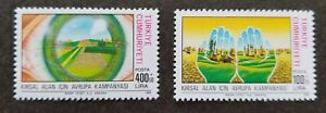 [SJ] Turkey European Campaign Rural Areas 1988 Hand Eye Agriculture (stamp) MNH