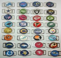 1 Set Nfl Team Paracord/ Shoelace Oval Charm Nfl Team Charms Wholesale Free Ship