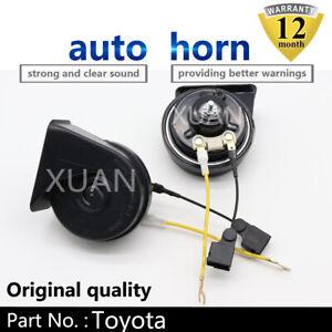 Snail-Horn-For-Toyota-RAV4-CROWN-YARiS-L-Levin-C-HR-Avalon-Loudness-110-129db