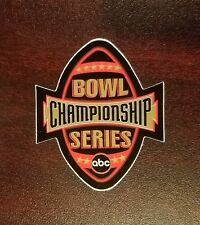 LSU Tigers 2002 Sugar Bowl Game Worn helmet decal BCS ABC RARE REAL DEAL