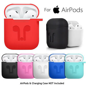 brand new 96d35 89bcb Details about Earphone Silicone Case Cover Protective Skin for Apple Airpod  Charging Case