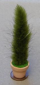 1.12 Plante Verte + Pot Maison De Poupées Miniature Jardin Fleurs Bush Accessoire Lg-afficher Le Titre D'origine