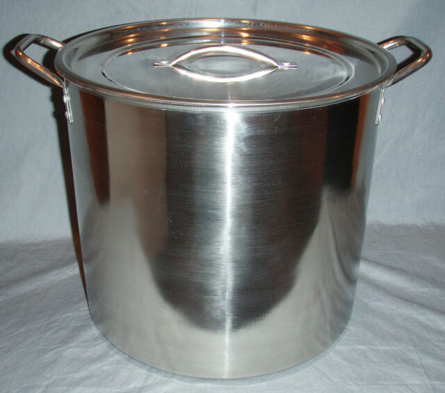 5 Gallon Stainless steel Stock Pot Brew Boiling Kettle Homebrewing Beer Making