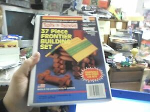 Sealed Toys-N-Things 37 piece Frontier Building Set NEW!!