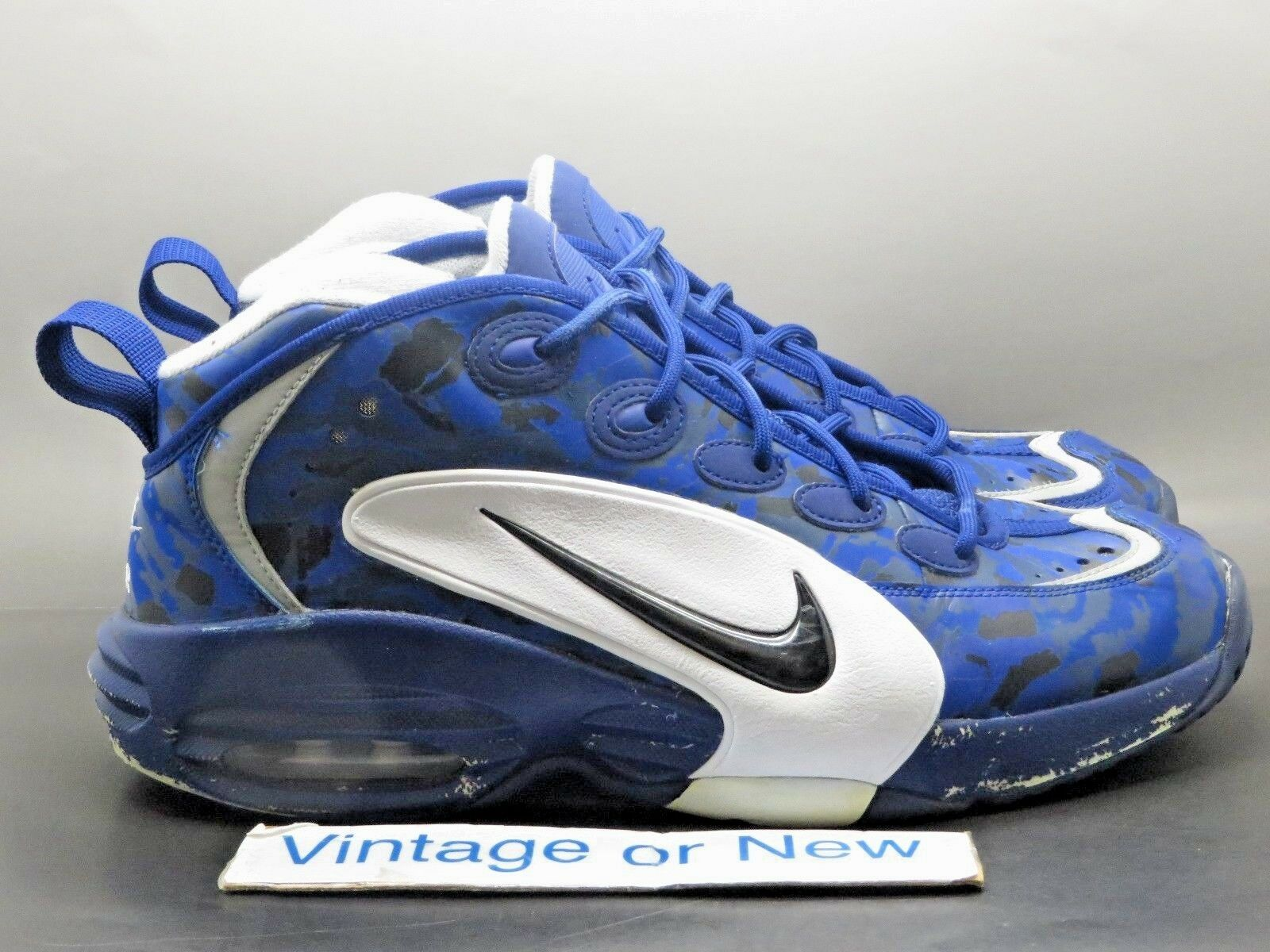 Nike Air Way Up Print Deep Royal Blue White Black Camo Tiger 2013 sz 10