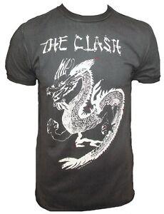 China The xl Star Tour Rock Clash Dragon Tattoo Amplificata Maglietta vintage Punk G qOdStn7