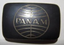1960s Pan Am Airlines Sterling Belt Buckle -